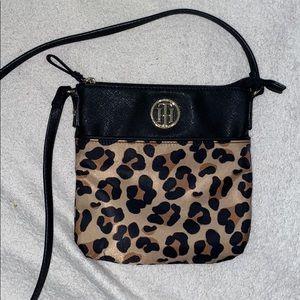 leopard print Tommy Hilfiger cross body bag